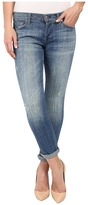 7 For All Mankind Josefina w/ Rolled Hem in Bright Light Broken Twill Women's Jeans