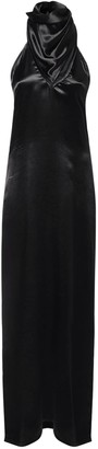 Bottega Veneta Washed Long Dress W/ Low Back