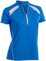 Asstd National Brand Sporty Short Sleeve Polo Plus
