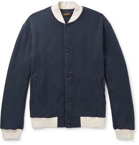 Chimala Textured-Cotton Bomber Jacket