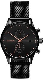 MVMT Voyager Mesh Bracelet Watch, 42mm