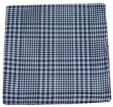 The Tie Bar Light Blue Huntington Plaid Pocket Square