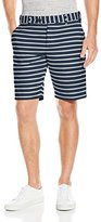 French Connection Men's Oxford Stripe Short