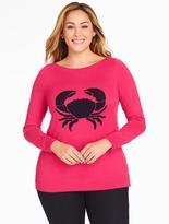 Talbots Textured Crab Sweater