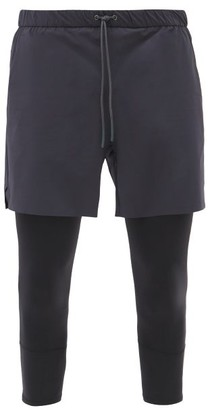 Jacques - Compression 01 Technical Shorts - Navy Multi