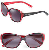 Circus By Sam Edelman CC110 Contrast Oval Sunglasses