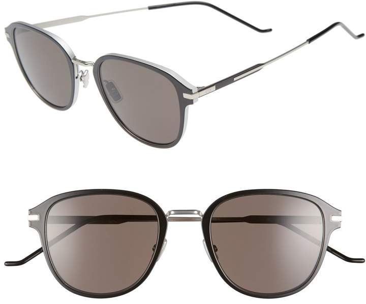 Christian Dior 55mm Wire Sunglasses