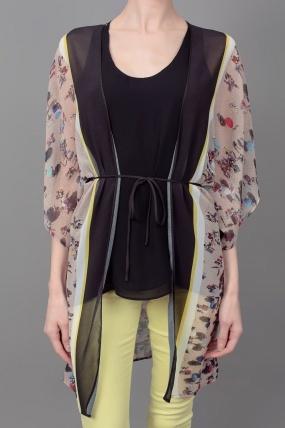 Clover Canyon Beach Printed Kimono Blouse
