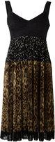 Dolce & Gabbana robe à mélanges d'imp
