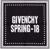 Givenchy Black Spring 18 Scarf
