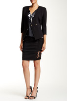 Thomas Wylde Hawthorn Lace Panel Skirt