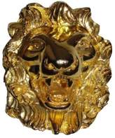 Judith Leiber 18K Gold Plated Lion Pin Brooch/Pendant
