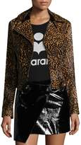 Isabel Marant Women's Eston XXX Fur Asymmetrical Jacket