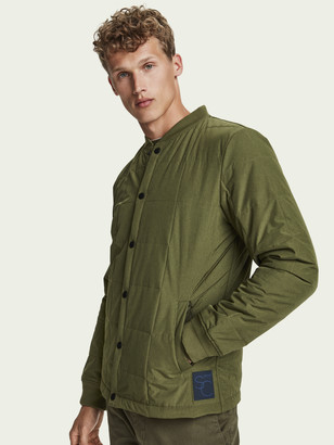 Scotch & Soda Lightweight quilted bomber jacket   Men