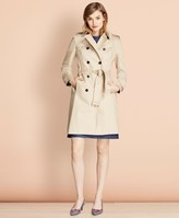 Brooks Brothers Cotton Twill Trench Coat