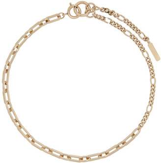 Justine Clenquet Gold Joyce Necklace