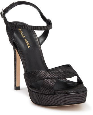 Pelle Moda Platform Stiletto Sandal