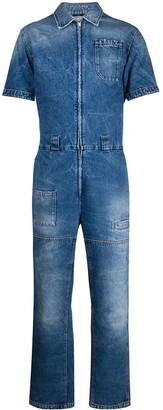 Fendi Workwear Denim Overall