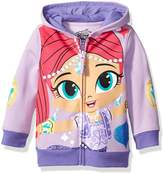 Nickelodeon Shimmer and Shine Toddler Girls' Character Hoodie, Lilac/Soft Violet