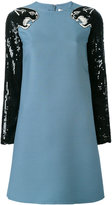 Valentino panther sequin dress - women - Silk/Polyamide/Virgin Wool - 40