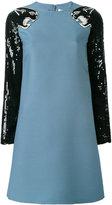 Valentino panther sequin dress - women - Virgin Wool/Silk/Polyamide - 40