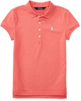 Ralph Lauren 7-16 Stretch Mesh Short-Sleeve Polo