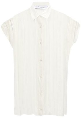 IRO Ruts Metallic Striped Georgette Shirt