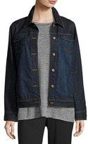 Eileen Fisher Organic Cotton Denim Jacket