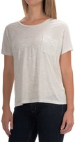 Lilla P Warm Viscose Pocket T-Shirt - Short Sleeve (For Women)