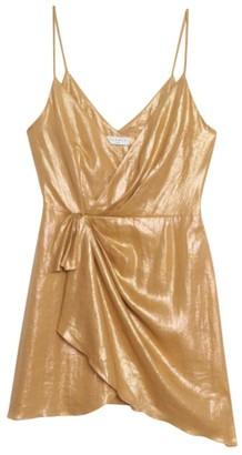 Sandro Paris Linen Mini Dress