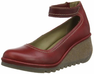 Fly London Women's NAME194FLY Ankle Strap Heels