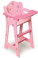 Badger Basket Blossoms & Butterflies Doll High Chair