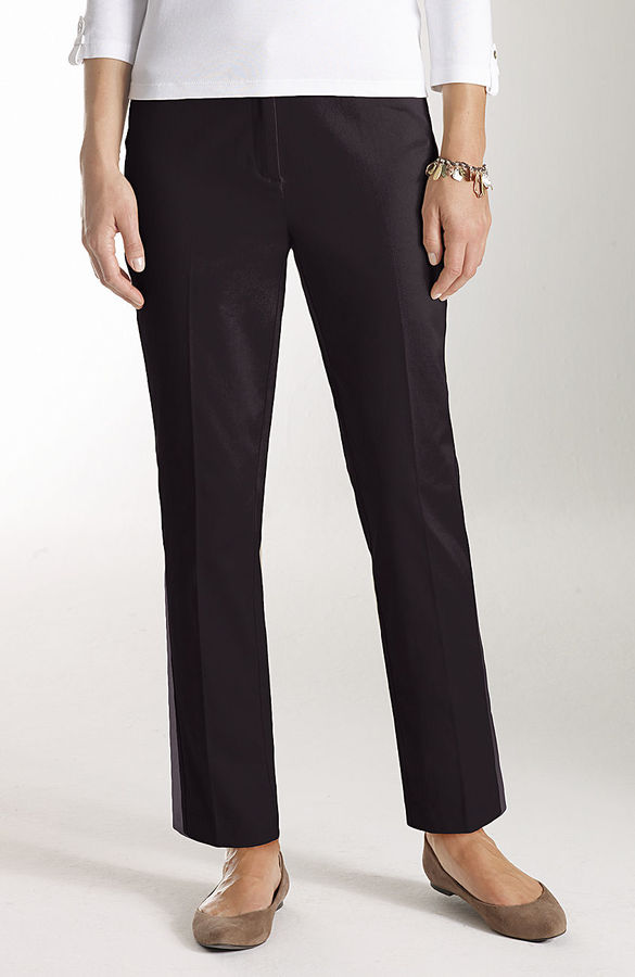 J. Jill Perfect zip-front ankle pants