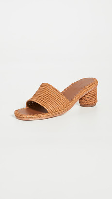 Carrie Forbes Bou Heeled Mules