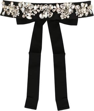 Dice Kayek crystal embellished belt