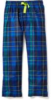 Old Navy Patterned Flannel Sleep Pants for Boys