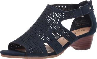 Bella Vita Women's Fashion Casual Heeled Sandal