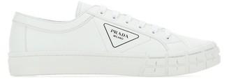 Prada Logo Print Sneakers