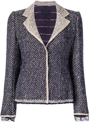 Prada Pre-Owned tweed jacket