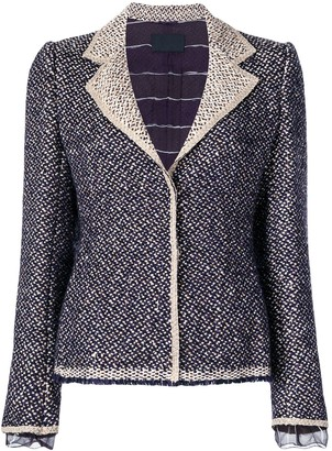 Prada Pre-Owned Tweed Jacket