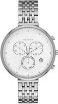 Skagen Women's Chronograph Gitte Stainless Steel Bracelet Watch 38mm SKW2419