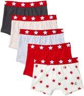 Petit Bateau 5 Pack Boxers (Toddler/Kid) - Multicolor - 6 Years