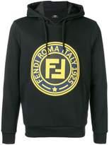 Fendi logo hooded sweatshirt