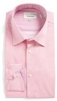 Ted Baker Men's Carver Trim Fit Geometric Dress Shirt