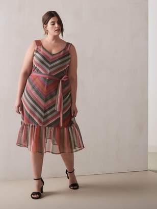 RACHEL Rachel Roy - Finn Chevron Maxi Dress