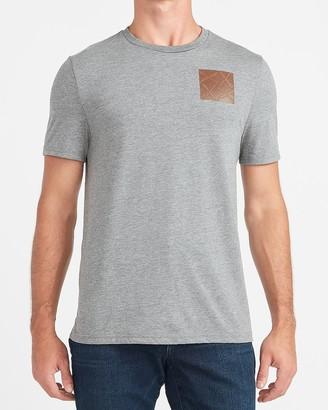 Express Grid Logo Moisture-Wicking Graphic T-Shirt
