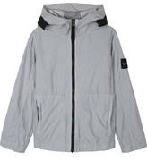 Stone Island Hooded nylon jacket 4-14 years