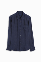 120% Lino Striped Linen Shirt