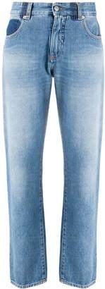 MM6 MAISON MARGIELA Straight-Leg High-Waisted Jeans