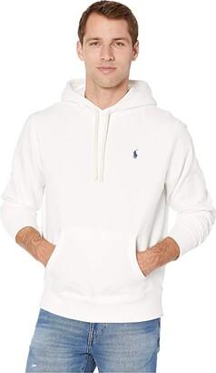 Polo Ralph Lauren Long Sleeve RL Fleece (Polo Black) Men's Clothing